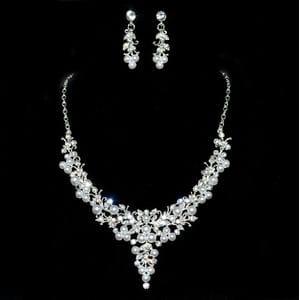 Набор с жемчугом и кристаллами арт.FSB0238