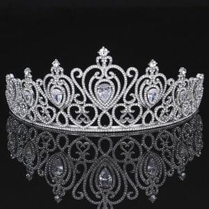 Корона с фианитами и кристаллами Swarovski арт.AR0338