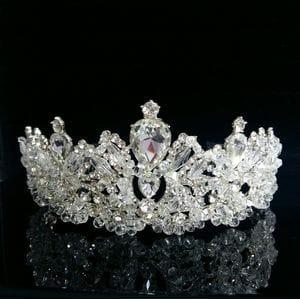 Хрустальная корона с кристаллами ручной работы арт.AR0621