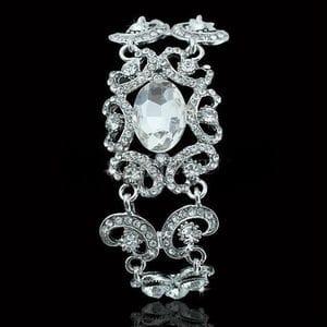 Браслет с кристаллами Swarovski арт.BR0020