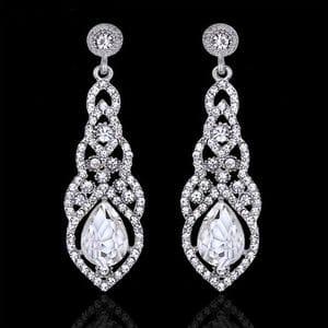 Серьги с кристаллами Swarovski арт.SR0804